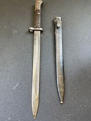 Cz Vz 24 Bayonet Csv V Bayonet W Scabbard - See The Pictures