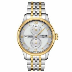 Tissot T-classic Le Locle Menand039s Automatic Watch Regulator Gold