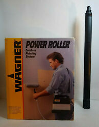 Wagner Power Roller Cordless Painting System 0156030 + Extension Rod