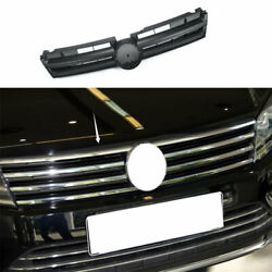 Fit For Vw Touareg 2011-2017 2018 Abs Black Front Upper Bumper Mesh Grill Grille
