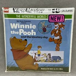Viewmaster View-master Winnie The Pooh And Blustery Day - 1979 - K 37 - Sealed