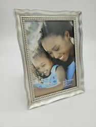 Fetco Home Decor Picture Frame Scalloped Metal 5quot; X7quot;