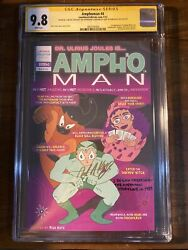 Amphoman 4 Cgc 9.8 Signed 1st App Ampho Shadow And Shadow Witch Rare