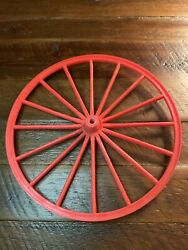 Vintage Marx Johnny West Horse And Covered Wagon Wheels Parts. 7