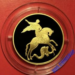 100 Roubles 2012 Russia Saint George The Victorious Gold Proof