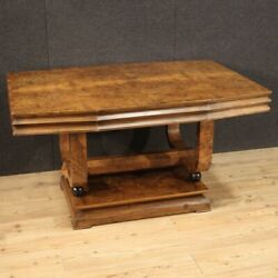 Art Deco Style Table Furniture Design Modern 2 Drawers Dining Room 900 In Wood