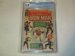 Tales Of Suspense 57 Cgc 5.0 Marvel 1964 Off-white To White Pages 1st Hawkeye
