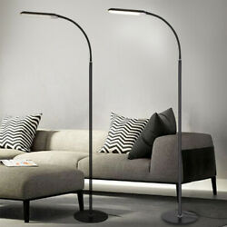 Modern Floor Lamp Standing Adjustable Led Dimmable For Reading Home Room Office