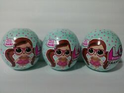 New Lol Surprise Hairvibes Dolls Set Of 3 Gold Balls