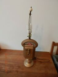 Vintage Duncan Miller Coin Operated Parking Meter Table Lamp Working 5c 10c 25c