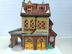 Dept.56 Dickens Village Series Hather Harness Building 58238 1994 With Box