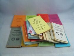 Vintage Lot Of Ibew Union Agreement Maintenance Booklet 1975 To 1998 Contract