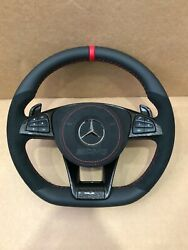 Mercedes Benz Custom Amg Steering Wheel A B Cls G Gla Gle Gls With Pedals Mb