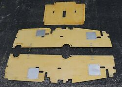 Aeronca 7 Series Champion Floor Boards And Interconnects - Will Consider Shipping