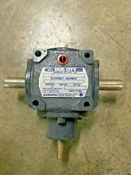 Hub City 0221-195891 Model M3 Ratio1/1 Style A, Right Angle Bevel Gear Drive