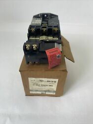 Square D 8501 Gd0-20-gd Dc Relay Operated Timer 240vdc 132va 5.5a Coil 115vdc