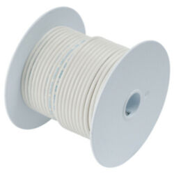 Ancor White 18 Awg Tinned Copper Wire - 35and039
