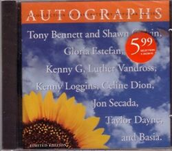 Autographs A Collection Of Favorites By Popular Artists - Music Cd - - - -