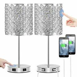 Touch Usb Crystal Lamp Sliver Crystal Lamp Type A Sliver Crystal Lamp Set Of 2