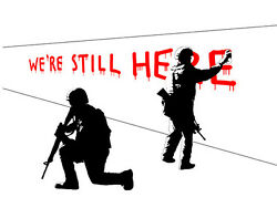 Freed - Were Still Here - Canvas Edition