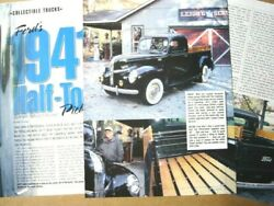 P 41 1941 Ford Pickup Truck Information