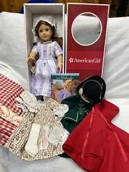 1991 American Girl Pleasant Company Felicity Lovely Face W/ Accessories