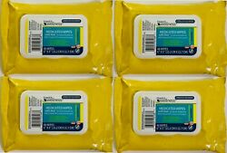 Family Wellness Hemorrhoidal Medicated Wipes Witch Hazel 50% Exp 2023 Lot of 4