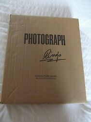 Ringo Starr Photograph Signed Deluxe Genesis Publications New In Box Beatles