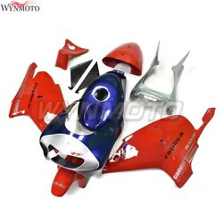 Motorcycle Abs Fairings For Aprilia Rs250 1998 99 00 01 - 2004 Red Blue Kit