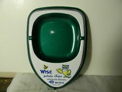 1950's Wise Potato Chips Salesman Sample Advertising Ashtray Mint Never Used