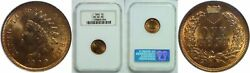 1900 Indian Head Cent Ngc Ms-64 Rd