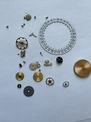 Patek Philippe Date Wheel 26mm With Mainspring And Movement Parts