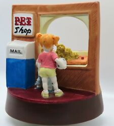 1989 House Of Lloyd Pet Shop Music Box How Much Is That Doggie In The Window
