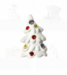 FROSTY THE SNOWMAN By Origami Owl WHITE TREE Floating Enamel CHRISTMAS Charm