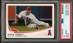 2013 Topps Mike Trout 2012 Dpoy 536 Psa 10