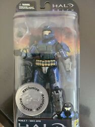 Comic-con/toys R Us Exclusive Halo Reach Noble 7 Action Figure Xbox New Mint