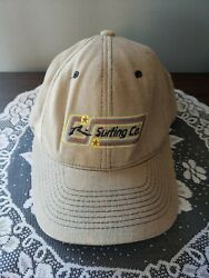 Rusty Surf Company Snapback Hat Vintage 90s. Free Shipping