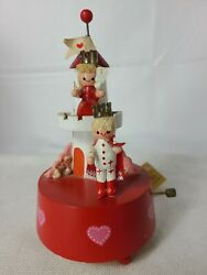 Vintage Lefton King And Queen Music Box Plays A Time For Us