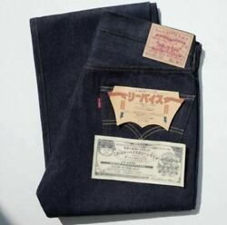 Levi's Vintage Clothing 1955 501 Katakana Jeans Limited To 501 Rare F/s From Jp