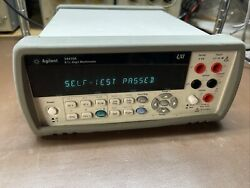 Agilent Hp 34410a Ilx Multimeter Used Tested Ships Free