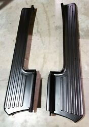 1953 1954 1955 1956 Ford Pickup Truck F100 Steel Running Boards Pair