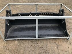 Skid Steer 72 4in1 With Bolt On Cutting Edge 4-in-1 Bucket Smooth New