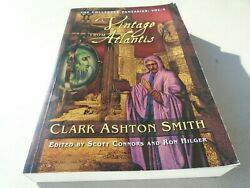 A Vintage from Atlantis The Collected Fantasies Vol. 3 by Clark Ashton Smith