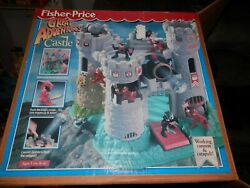 Fisher Price 1994 Great Adventures Castle Knights In Box