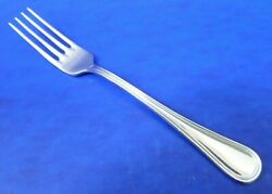 Calderoni Oxford Outline Edge Glossy 18/10 Stainless Italy Flatware Salad Fork