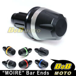 Cnc Moire Bar End Weights For Ducati 748 916 996 998 S R 99-03 02 01 00