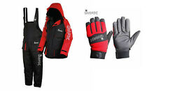 Imax Thermo Suit 2pc Thermal Lining Sea Fishing 100 Waterproof + Imax Gloves