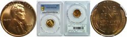 1952 Lincoln Cent Pcgs Ms-67 Rd