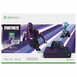 Xbox One S 1tb Console Fortnite Battle Royale Specialedition Bundle New Open Box