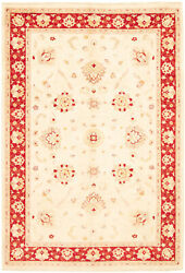 Vintage Hand-knotted Carpet 6'9 X 9'10 Traditional Oriental Wool Area Rug